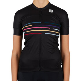 Sportful Vélodrome Short Sleeve Jersey Women, black